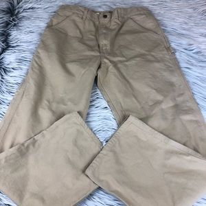 Carhartt carpenter work pants 34x32